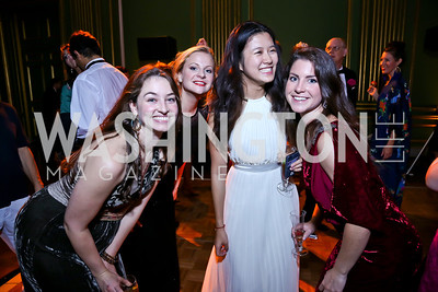 Carly Pippin, Miranda Gale, Jing Huang, Abby Bisbee. Photo by Tony Powell. Some Enlightened Evening. Andrew Mellon Auditorium. October 17, 2013