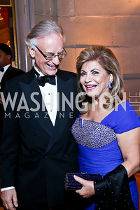 Julian Raby, Annie Totah. Photo by Tony Powell. Some Enlightened Evening. Andrew Mellon Auditorium. October 17, 2013