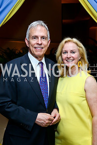 Rep. Bart Gordon and Leslie Gordon. Photo by Tony Powell. French Historical Society Benefit Dinner. La Maison Française. May 15. 2013