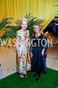 Dinner Co-Chairs Jeannie Rutherfoord, Michelle Imhoff. Photo by Tony Powell. French Historical Society Benefit Dinner. La Maison Française. May 15. 2013