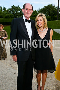 Sam Lehrman, Katherine Wood. Photo by Tony Powell. French Historical Society Benefit Dinner. La Maison Française. May 15. 2013