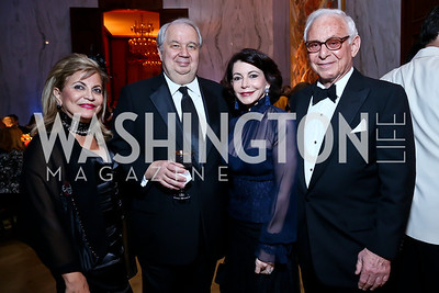 Annie Totah, Russian Federation Amb. Sergey Kislyak, JoAnn and John Mason. Photo by Tony Powell. 2013 Friends in Time of War Gala. Russian Federation. October 7, 2013