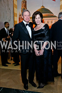 Wayne and Catherine Reynolds. Photo by Tony Powell. 2013 Friends in Time of War Gala. Russian Federation. October 7, 2013