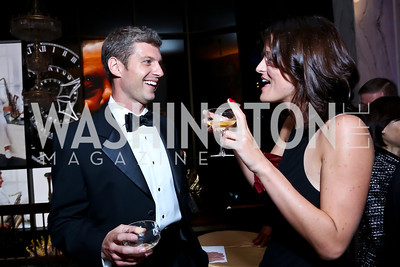 Evan Smith, Nina Weir. Photo by Tony Powell. 2013 Friends in Time of War Gala. Russian Federation. October 7, 2013