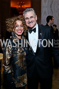 Mercedes Ellington, Murray Horwitz. Photo by Tony Powell. 2013 Friends in Time of War Gala. Russian Federation. October 7, 2013