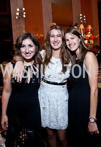 Emily Levey, Alice and Sarah Lawson. Photo by Tony Powell. 2013 Friends in Time of War Gala. Russian Federation. October 7, 2013