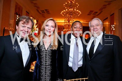 Igor Butman, Susan Lehrman, Wynton Marsalis, Amb. Sergey Kislyak. Photo by Tony Powell. 2013 Friends in Time of War Gala. Russian Federation. October 7, 2013