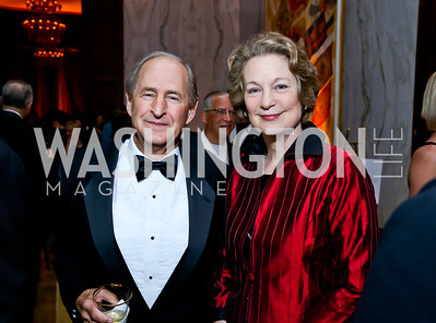 Eugene Lawson, Susan Eisenhower. Photo by Tony Powell. 2013 Friends in Time of War Gala. Russian Federation. October 7, 2013