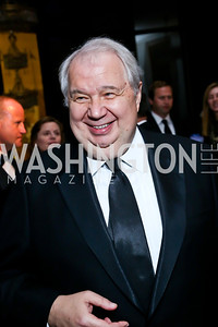 Russian Federation Ambassador His Excellency Sergey Kislyak. Photo by Tony Powell. 2013 Friends in Time of War Gala. Russian Federation. October 7, 2013