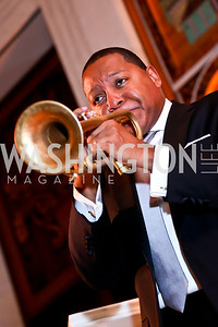 Wynton Marsalis. Photo by Tony Powell. 2013 Friends in Time of War Gala. Russian Federation. October 7, 2013