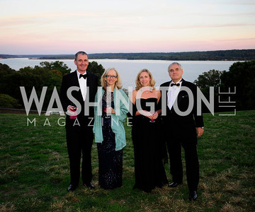 Edward Grubb,Katherine deLaski,Deane' Fenstermaker,David Fenstermaker,,September 26,2013,Gala Reception for the  Opening of the Fred W.Smith Library for the Study of George Washington at Mt .Vernon,Kyle Samperton