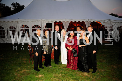 Hamid Quaraishi,Ghanaz Quaraishi,John Bookot,Anne BookoutShaista Mahmood,Ray Mahmood,Tracy Key,Clinton Key,,September 26,2013,Gala Reception Opening of the Fred W.Smith Library for the Study of George Washington at Mt .Vernon,Kyle Samperton
