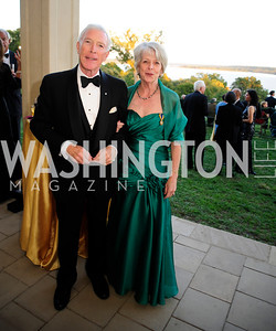 Ben Lucas,Barbara Lucas,September 26,2013,Gala Reception for the  Opening of the Fred W.Smith Library for the Study of George Washington at Mt .Vernon,Kyle Samperton