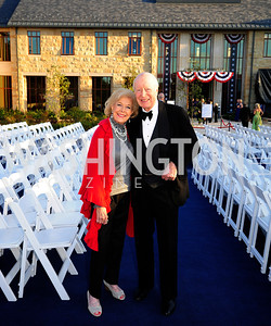 Bonnie Nicholson,Austin Kiplinger,September 26,2013,Gala Reception for the  Opening of the Fred W.Smith Library for the Study of George Washington at Mt .Vernon,Kyle Samperton