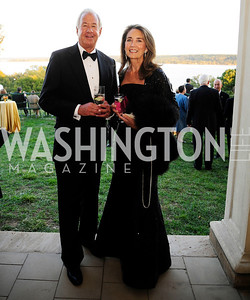 Jim Kleeblatt,Jenny Guinness,September 26,2013,Gala Reception for the  Opening of the Fred W.Smith Library for the Study of George Washington at Mt .Vernon,Kyle Samperton