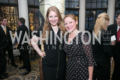 "Julianna Jacobson, Jenlene Nowak. Gary Sinise Foundation and The Caucus Room Brasserie ""Inspiration to Action,"" fundraising dinner. Photo by Alfredo Flores. Westin Georgetown. March 20, 2013"