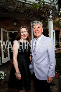 Stephanie Bothwell, Frank Randolph. Photo by Tony Powell. Georgetown House Tour Patrons Party. Anderson/Schappell residence. April 24, 2013