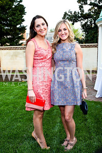 Raelynn Johnson, Catherine Zinn. Photo by Tony Powell. Georgetown House Tour Patrons Party. Anderson/Schappell residence. April 24, 2013