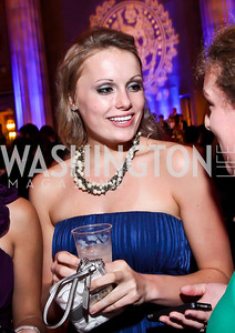 Megan Rebholtz. Photo by Tony Powell. Georgetown University Diplomatic Ball. Mellon Auditorium. April 12, 2013