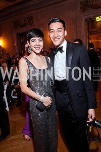 Alex Jung, Kiet Nguyen. Photo by Tony Powell. Georgetown University Diplomatic Ball. Mellon Auditorium. April 12, 2013