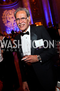 Fiji Amb. Winston Thompson. Photo by Tony Powell. Georgetown University Diplomatic Ball. Mellon Auditorium. April 12, 2013