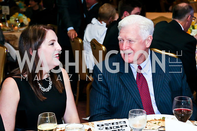 Jessica Straus, Rep. Jim Moran. Photo by Tony Powell. Global Down Syndrome Foundation Gala. Ritz Carlton. May 8, 2013