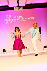 Melissa Castellanos, Justin Bailey. Photo by Tony Powell. Global Down Syndrome Foundation Gala. Ritz Carlton. May 8, 2013