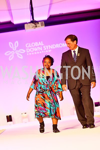 Funmi Agbebi. Photo by Tony Powell. Global Down Syndrome Foundation Gala. Ritz Carlton. May 8, 2013