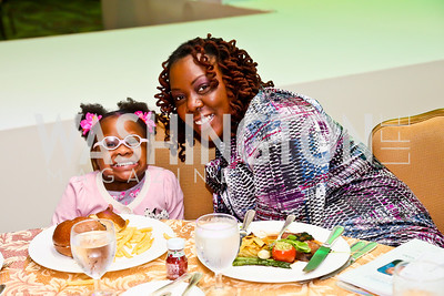 Nyelah and Benetta Pyatt. Photo by Tony Powell. Global Down Syndrome Foundation Gala. Ritz Carlton. May 8, 2013