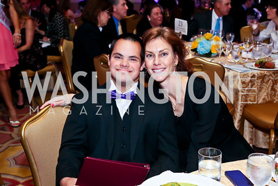 Alexander and Sara Sessions. Photo by Tony Powell. Global Down Syndrome Foundation Gala. Ritz Carlton. May 8, 2013