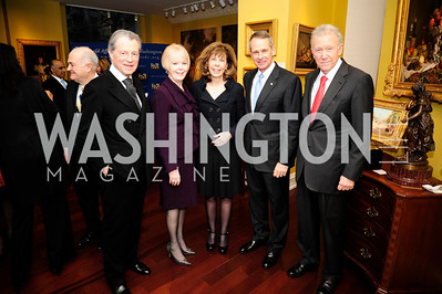 Leo Daley,Lynne Pace ,Jane Stanton Hitchcock,Peter Pace,Jim Hoagland,March 7,2013,Global Education Gala,Kyle Samperton