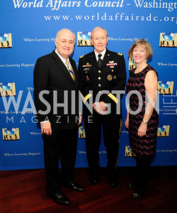Steven Knapp,  Gen. Martin Dempsey,Deanie Dempsey,March 7,2013,Global Education Gala,Kye Samperton