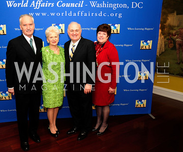 Tony Culley Foster,Edie FrasernSteven Knapp,Candace Duncan,March 7,2013,Global Education Gala,Kyle Samperton