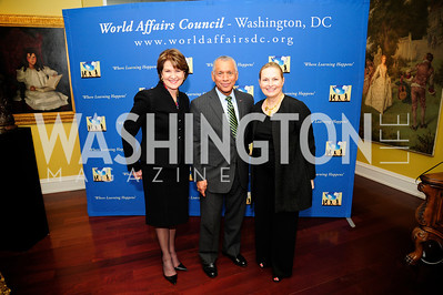 Marillyn Hewson,Charles Bolden,Heidi Shoup,March 7,2013,Global Education Gala,Kyle Samperton