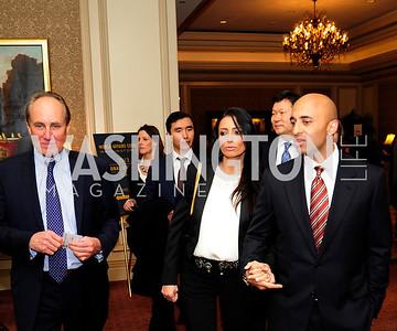 Christopher Isham,Abeer Al-Otiaba,U.A.E .Amb. Yousef Al-Otaiba,March 7,2013,Global Education Gala,Kyle Samperton