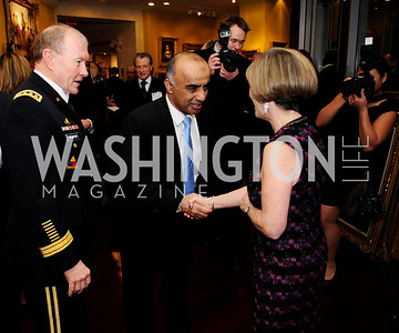 Gen.Martin Dempsey,Abelrahman Al-Mazi,Deanie Dempsey,March 7,2013,Global Education Gala,Kyle Samperton