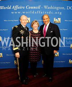 Gen.Martin Dempsey,Deanie Dempsey, Togo West,March 7,2013,Global Education Gala,Kyle Samperton