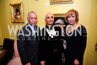 Charles Bolden,Jackie Bolden,Jackie Hrabowski,March 7,2013,Global Education Gala,Kyle Samperton
