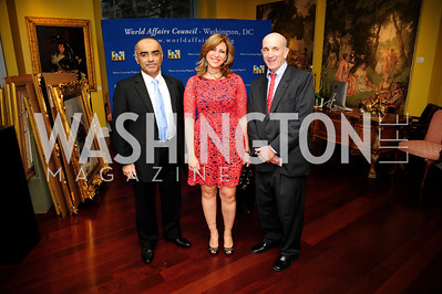 Abelrahman Al-Mazmi,Dima Al-Faham,Marc Albert,March 7,2013,Global Education Gala,Kyle Samperton