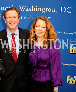 Pat Finn,Kate Mulvany,March 7,2013,Global Education Gala,Kyle Samperton