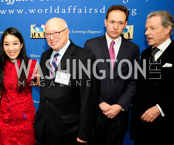 Michelle Kwan,Joe Duffy,Clay Pell ,Leo Daley,March 7,2013,Global Education Gala,Kyle Samperton