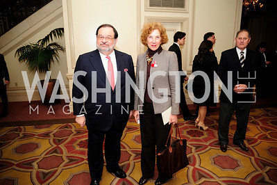 Luxembourg Amb.Jean-Louis Wolzfeld,Bulgarian Amb,Elena Petrova,March 7,2013,Global Education Gala,Kyle Samperton