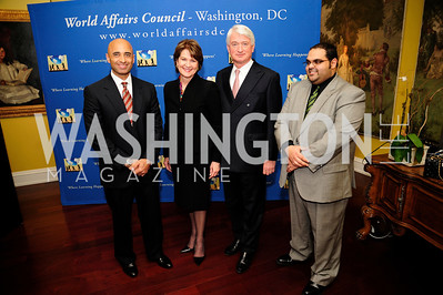U.A.E. Amb. Yousef Al-Otaiba,Marillyn Hewson,Geert Boven,Haitham Al-Subaihi,March 7,2013,Global Education Gala,Kyle Samperton