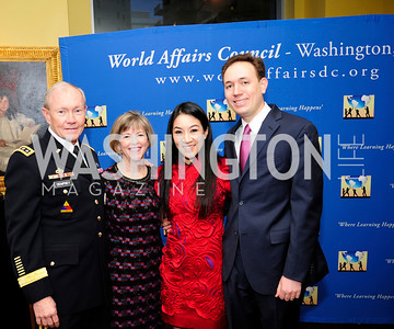 Gen.Martin DempseyDeanie Dempsey, Michelle Kwan,Clay Pell,March 7,2013,Global Education Gala,Kyle Samperton