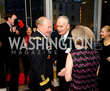 Gen.Martin Dempsey,Tony Culley Foster, Heidi Shoup,March 7,2013,Global Education Gala,Kyle Samperton