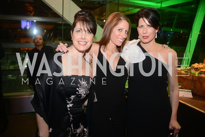 Shelley Cohen, Jacki Schechner, Melissa Fitzgerald, The Inaugural Green Ball on Sunday, January 20th , 2013. Newseum.