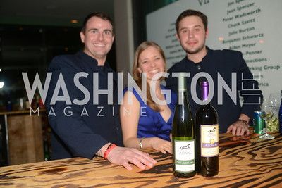 Hunt Country Vinards,  The Inaugural Green Ball on Sunday, January 20th , 2013. Newseum.