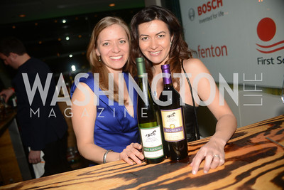 Hunt Country Vinards, Leilani Munter, The Inaugural Green Ball on Sunday, January 20th , 2013. Newseum.