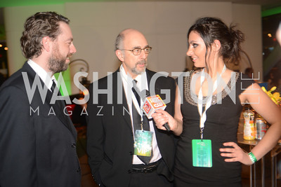 Brent Koske, Richard Schiff, Sofia Samrad, Chasing the Hill,  The Inaugural Green Ball on Sunday, January 20th , 2013. Newseum.