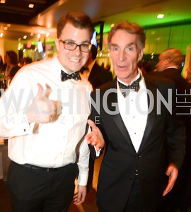 Brandon Wetherbee, Bill Nye the Science Guy, The Inaugural Green Ball on Sunday, January 20th , 2013. Newseum.